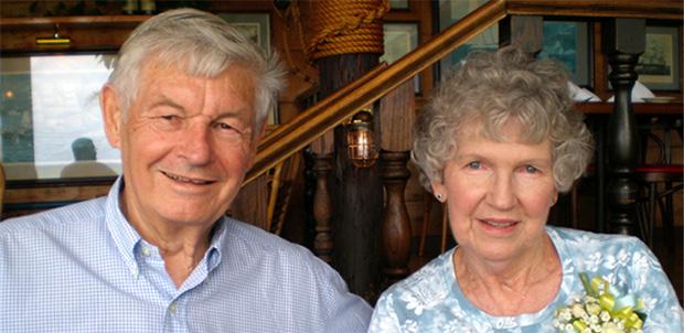 Ken and Margie