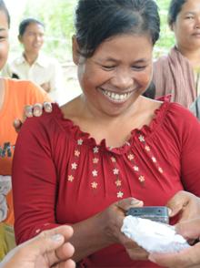 MegaVoice in Cambodia Small