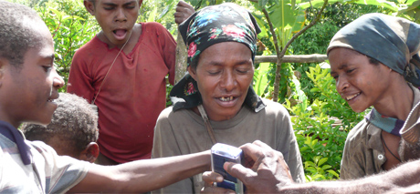 Villagers Listening
