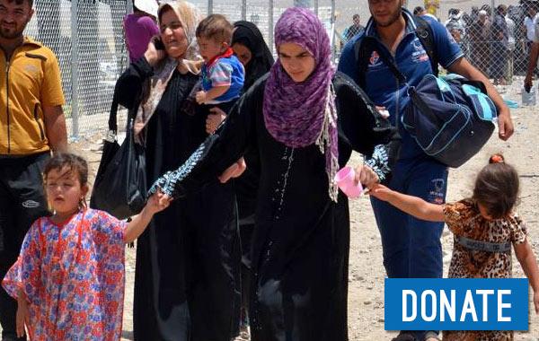 Christians Fleeing Mosul