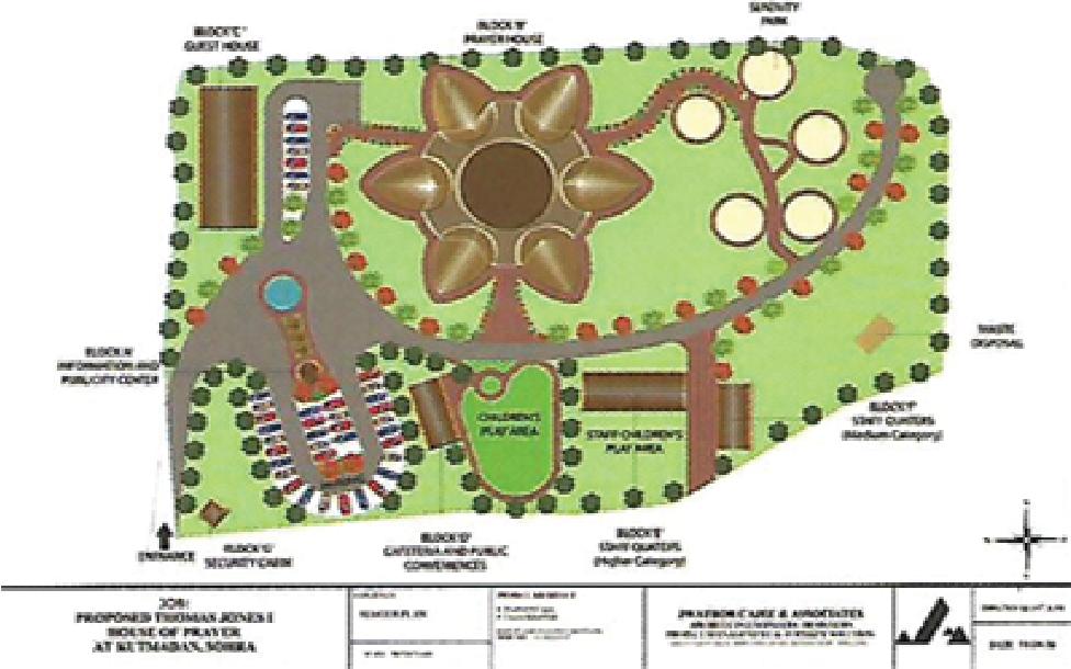 House of Prayer Map