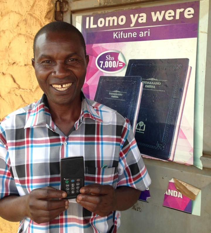 Rev James Bakika from Mbalein Uganda